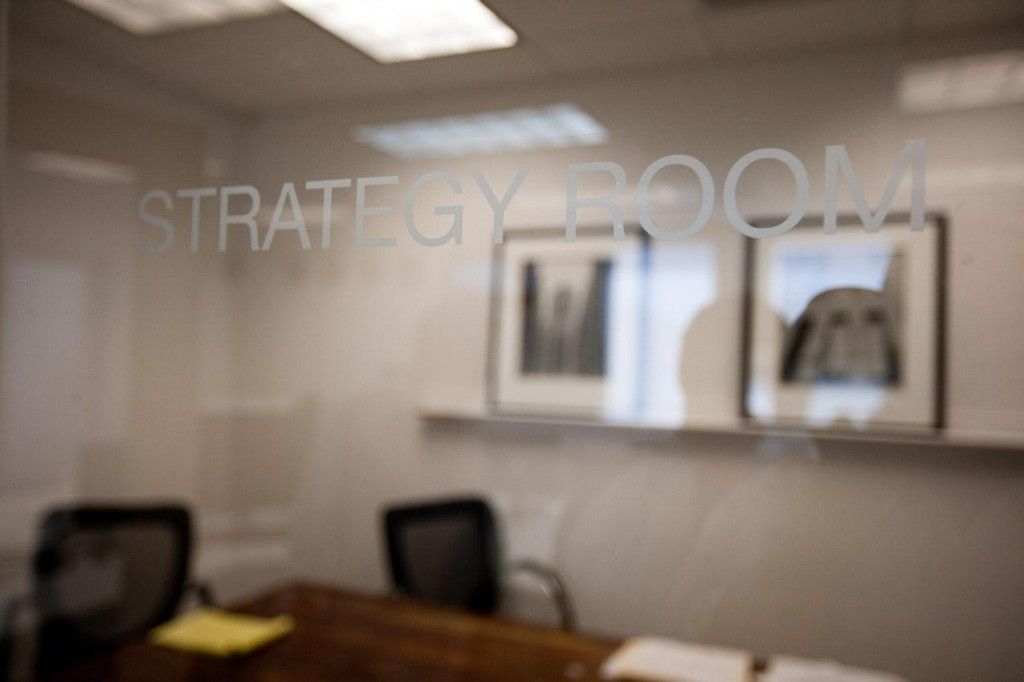strategy room