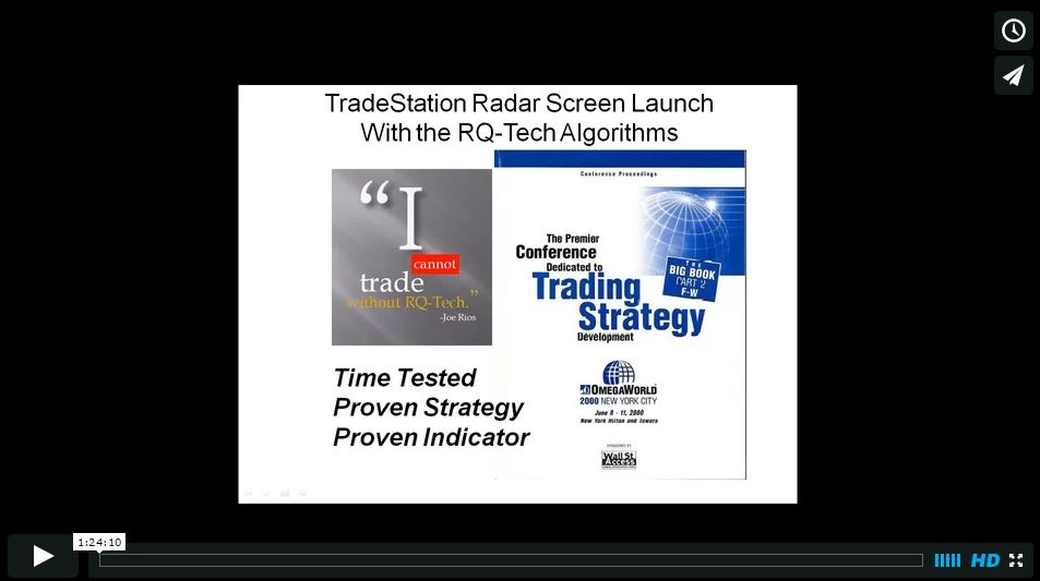 Velocity trading system