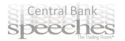 World Headlines – Central Bank Speeches