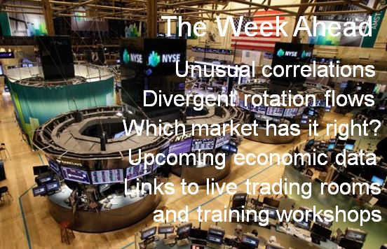 The Week Ahead in the Global Financial Markets